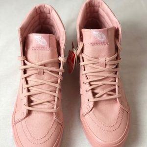 c36c14979e0d0 Vans Shoes - Vans SK8 Hi Slim Metallic Glitter Silver Pink.